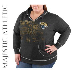 MAJESTIC Jacksonville Jags Women's Hoodie, M, NWT!